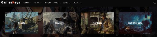 GamesKeys Screenshot